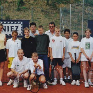 Juniors 2002 avec Timéa et Alexandre