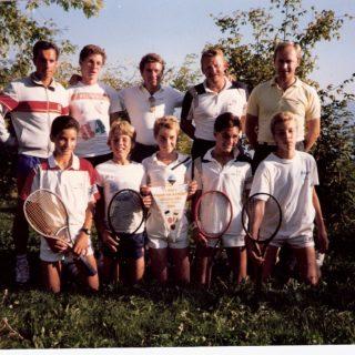 Champion romand juniors 1986
