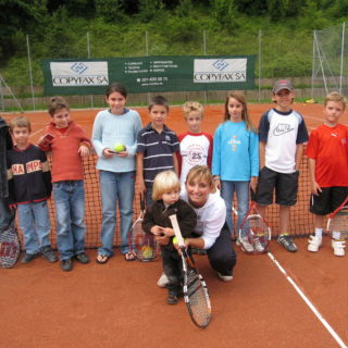 Juniors 2007 avec Timéa