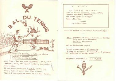 Bal tennis 1978